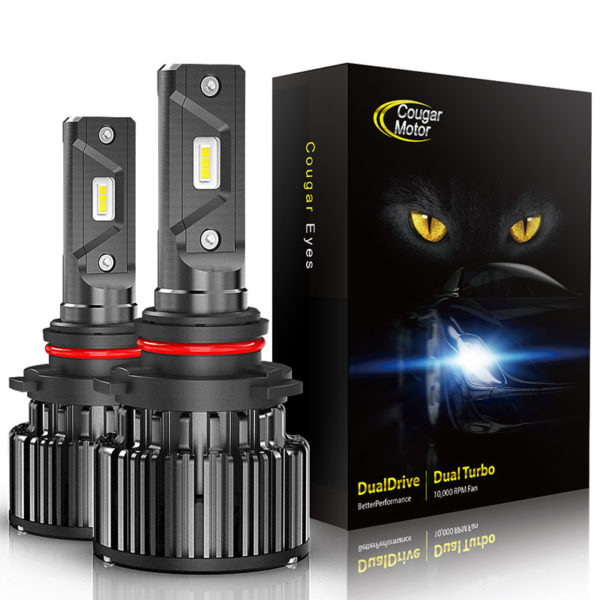 Cougar Motor 9006 Led Headlight Bulbs 10000 Lumens Super Bright 6000K Cool White_01