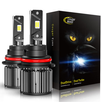 Cougar Motor 9007 Led Headlight Bulbs 10000 Lumens Super Bright 6000K Cool White_01